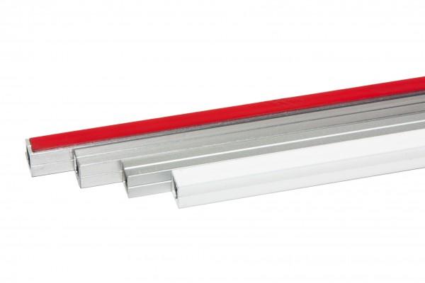 Alu Designleiste T-STRIPE Fensterheizung