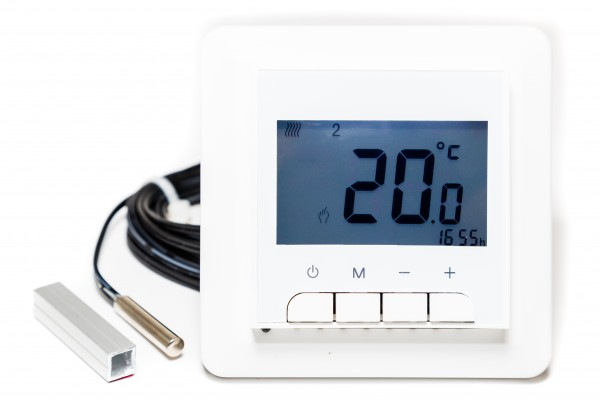 T-STRIPE Design Standard Einbauthermostat Digital